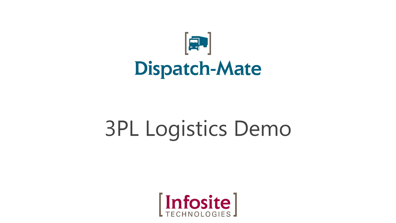 3PL Logistics Demo
