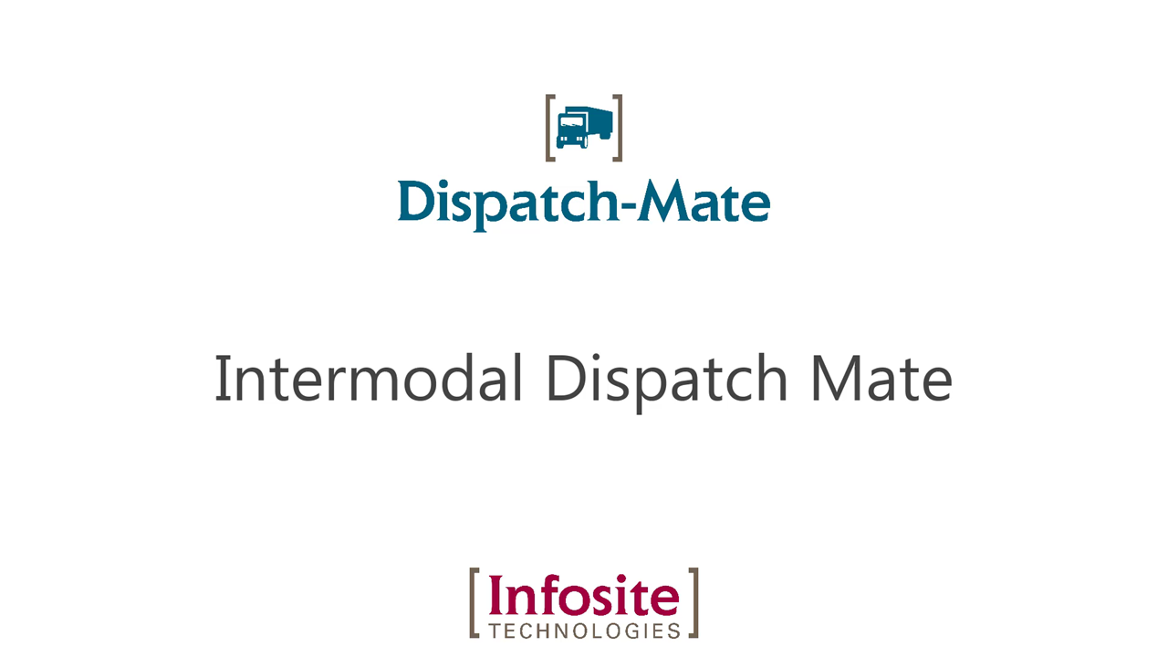 Intermodal Dispatch Mate